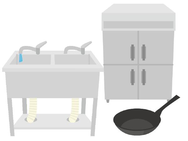 店舗什器・厨房器具